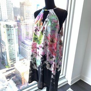 NWT Stunning Eci slip dress. Size XL. The back!!!